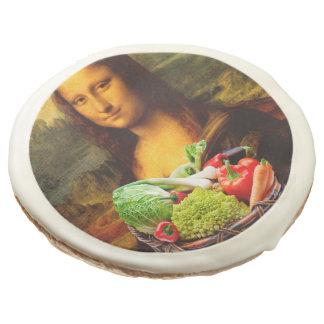 Mona Lisa With Vegetables Sugar Cookie