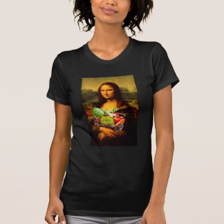 Mona Lisa With Vegetables T Shirt