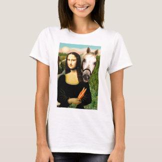 Mona Lisa y su caballo árabe Playera