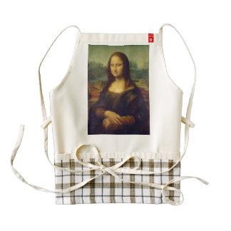 Mona Lisa Zazzle HEART Apron