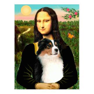 Mona Lisa's Australian Shepherd (Tri) Postcard