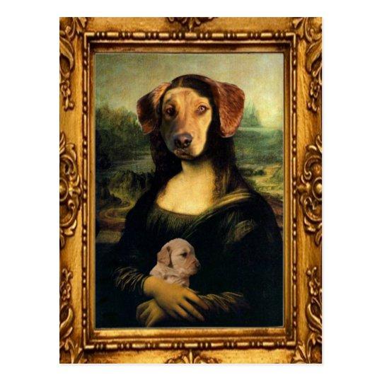 mona lisa u0026 39 s dog - golda lisa