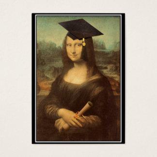 Mona Lisa's Graduation Day Business Card