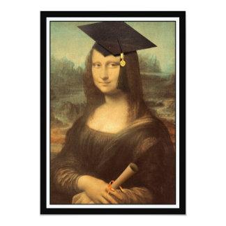 Mona Lisa's Graduation Day Card