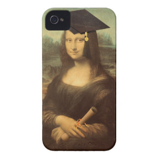 Mona Lisa's Graduation Day iPhone 4 Cover