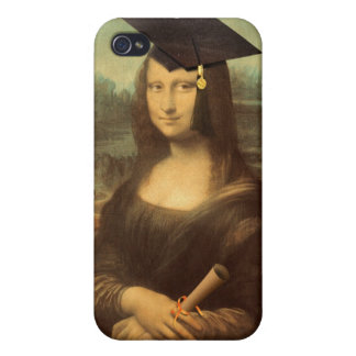 Mona Lisa's Graduation Day Cover For iPhone 4