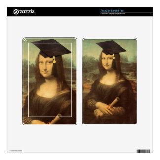 Mona Lisa's Graduation Day Decal For Kindle Fire