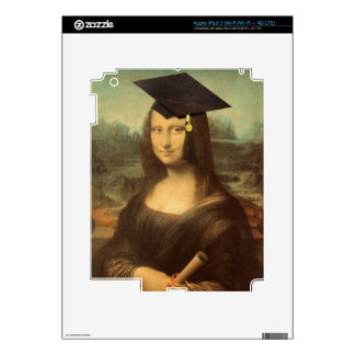Mona Lisa's Graduation Day Decals For iPad 3
