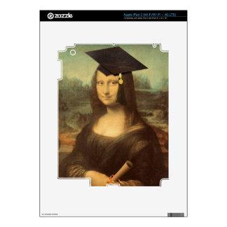 Mona Lisa's Graduation Day Decals For iPad 3