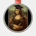 Mona Lisa's Graduation Day Christmas Tree Ornaments