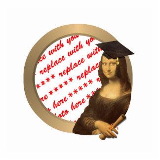 Mona Lisa's Graduation Day Photo Frame Standing Photo Sculpture