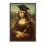 Mona Lisa's Graduation Day Photo Sculpture