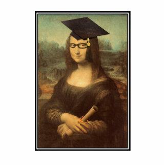 Mona Lisa's Graduation Day Standing Photo Sculpture