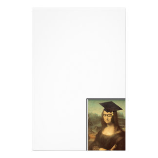Mona Lisa's Graduation Day Stationery