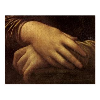 Mona Lisa's Hand by Leonardo da Vinci c. 1505-1513 Postcard