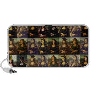 Mona Lisa's Many Faces Speaker System