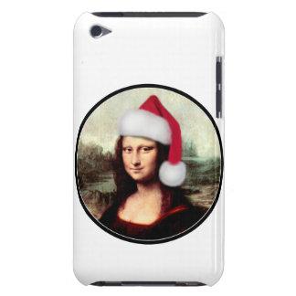 Mona Lisa's Santa Hat iPod Touch Case-Mate Case