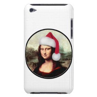 Mona Lisa's Santa Hat iPod Touch Cases