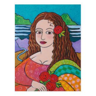 Mona maníaca postales