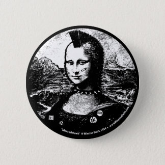 Mona Mohawk Button