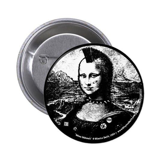 Mona Mohawk Button