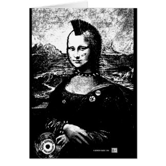 Mona Mohawk Greeting Card