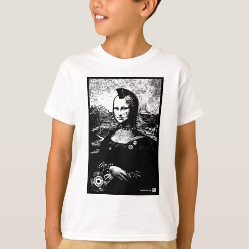 Mona Mohawk Kids T_Shirt