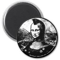 Mona Mohawk Magnet
