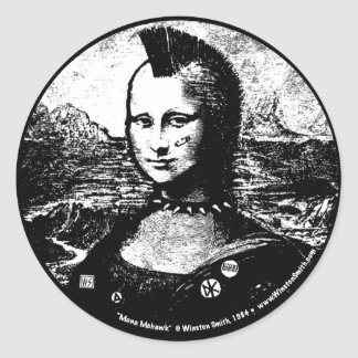 Mona Mohawk Sticker