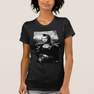 Mona Mohawk Wm Black T Shirts
