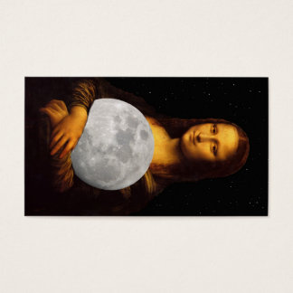 Mona 'Moona' Lisa Business Card