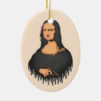 Mona Pistol Ceramic Ornament