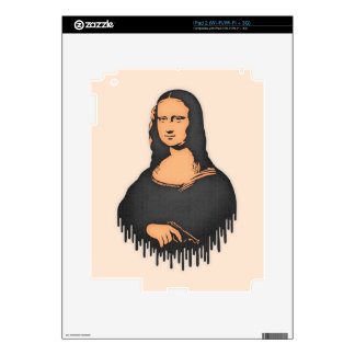Mona Pistol Decal For The iPad 2