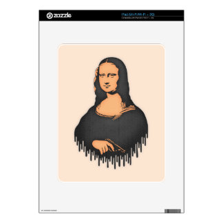 Mona Pistol iPad Decal