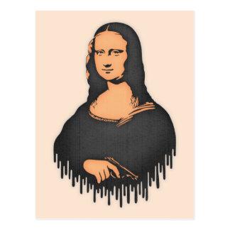 Mona Pistol Postcard