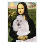 Mona-Pood-White-Standard Poodle Cards