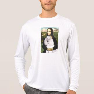 Mona-Pood-White-Standard Poodle T Shirt