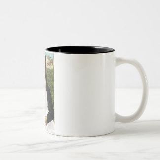 Mona-Pood-White-Standard Poodle Two-Tone Coffee Mug