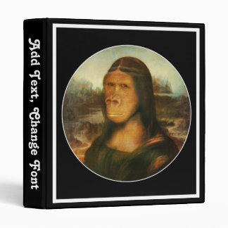 Mona Rilla aka  Mona Lisa 3 Ring Binder