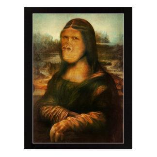 Mona Rilla aka Mona Lisa Tarjeta Postal