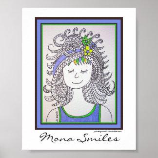 Mona Smiles Print