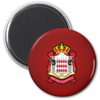Monacan coat of arms magnet