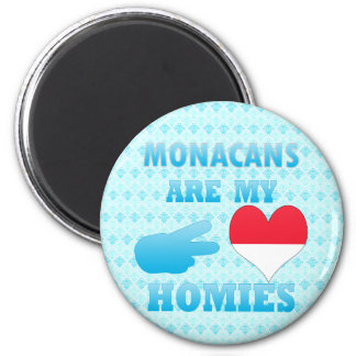 Monacans are my Homies Magnets