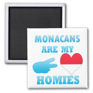Monacans are my Homies Fridge Magnet