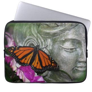 Monach Butterfly on Kwan Yin Computer Sleeve