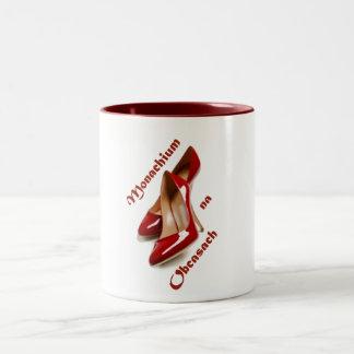 Monachium well Obcasach Two-Tone Coffee Mug