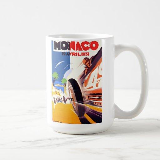 Mónaco 1931 Grand Prix Taza De Café