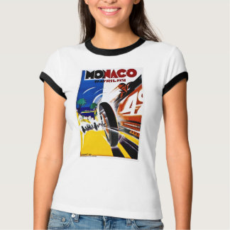 Monaco 1931 Grand Prix - Vintage Race Poster T-Shirt