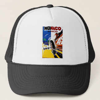 Monaco 1931 Grand Prix - Vintage Race Poster Trucker Hat