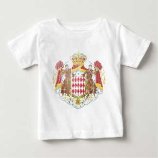 Monaco Coat Of Arms Baby T-Shirt